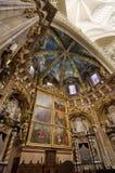Santuario della cattedrale di Valencia - vista verticale Fotografia Stock
