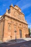Santuario della croce santa. Galatone. La Puglia. L'Italia. Immagine Stock