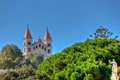 Santuario della Madonna di Montalto, Messina, Sicilien, Italien fotografering för bildbyråer