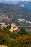Santuario della madre delle tolleranze di Mentorella, nel Lazio, l'Italia Fotografia Stock