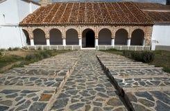 Santuario della nostra signora dell'entrata principale del Ara Fotografia Stock