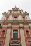 Santuario della nostra signora delle tolleranze a Varsavia Città Vecchia, Polonia Fotografia Stock Libera da Diritti