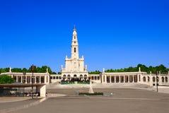 Santuario della nostra signora, Fatima, Portogallo fotografie stock