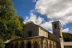 Santuario della Verna, Tuscany Royalty Free Stock Photos