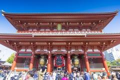 Santuario di Asakusa Fotografia Stock