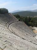 Santuario di Asklepios a Epidaurus Immagini Stock