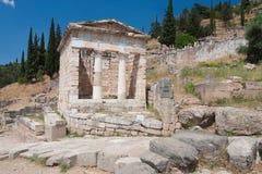 Santuario di Athena Pronaia Fotografie Stock Libere da Diritti