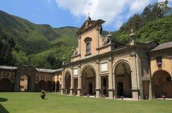 Santuario di Bocca di Rio. Bocca di Rio, religious complex in Castiglione dei Pepoli, Italy Royalty Free Stock Photo