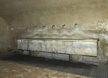 Santuario di caravaggio. Caravaggio (Bg), Italy, the sanctuary of Santa Maria della  Fonte, the miraculous source Royalty Free Stock Images