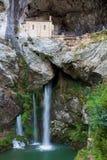 Santuario di Covadonga Immagine Stock