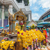 Santuario di Erawan a Bangkok Fotografie Stock Libere da Diritti