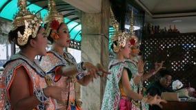 Santuario di Erawan a Bangkok in cui la bomba è stata piantata archivi video