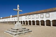 Santuario di Espichel del capo, Portogallo Immagini Stock
