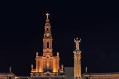 Santuario di Fatima, altare del mondo cattolico Immagini Stock