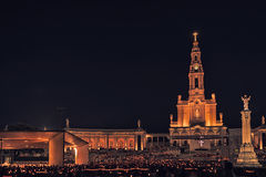 Santuario di Fatima, altare del mondo cattolico Fotografia Stock