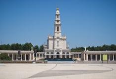 Santuario di Fatima nel Portogallo Fotografia Stock Libera da Diritti