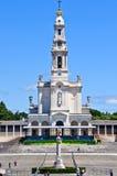 Santuario di Fatima nel Portogallo Fotografie Stock