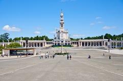 Santuario di Fatima nel Portogallo Fotografia Stock