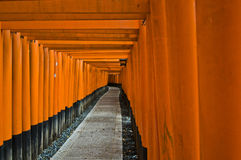 Santuario di Fushimi Immagine Stock Libera da Diritti