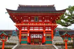 Santuario di Fushimi Inari, Kyoto, Giappone Immagine Stock Libera da Diritti