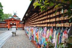 Santuario di Fushimi Inari, Kyoto, Giappone Immagini Stock