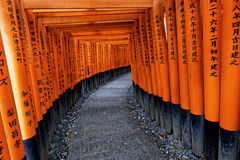 Santuario di Fushimi Inari Taisha Immagini Stock
