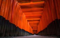 Santuario di Fushimi Inari-taisha Fotografie Stock