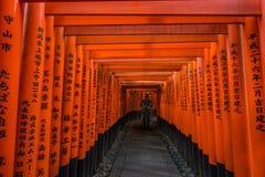 Santuario di Fushimi Inari-taisha Immagini Stock