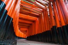 Santuario di Fushimi Inari-taisha Fotografia Stock Libera da Diritti