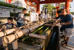 Santuario di Fushimi Inari Taisha Fotografia Stock Libera da Diritti
