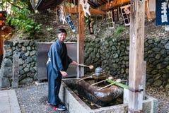 Santuario di Fushimi Inari Taisha Fotografia Stock