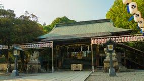 Santuario di Futarasan Immagine Stock