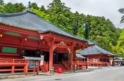Santuario di Futarasan, un sito del patrimonio mondiale dell'Unesco a Nikko Fotografie Stock Libere da Diritti