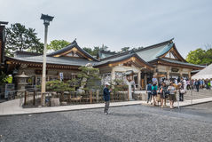 Santuario di Gokoku Fotografia Stock