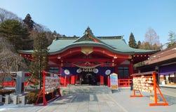 Santuario di Gokoku a Sendai Fotografia Stock