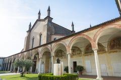 Santuario di Grazia sopra il mincio Immagine Stock