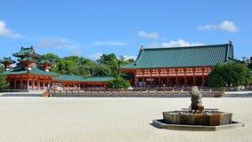 Santuario di Heian Immagini Stock Libere da Diritti