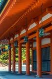 Santuario di Heian Fotografia Stock