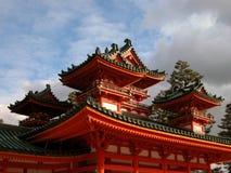 Santuario di Heian Fotografie Stock
