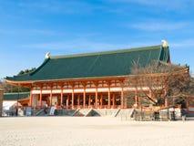 Santuario di Heian Jingu Fotografie Stock