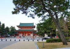 Santuario di Heian a Kyoto Immagini Stock Libere da Diritti