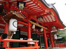 Santuario di Ikuta Fotografie Stock