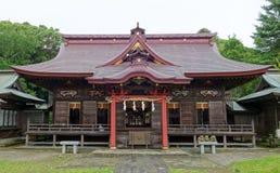 Santuario di isosaki di Oarai in Ibaraki Immagini Stock