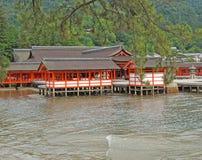 Santuario di Itsukushima Fotografie Stock