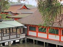 Santuario di Itsukushima Immagine Stock