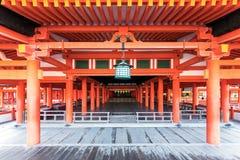 Santuario di Itsukushima immagini stock