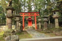 Santuario di Kasuga Taisha, Nara, Giappone Immagine Stock Libera da Diritti
