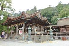Santuario di Konpira Fotografie Stock