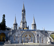 Santuario di Lourdes Immagini Stock
