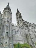 Santuario di Lourdes in Francia immagine stock